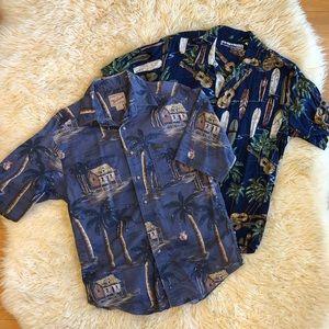Lot of 2 Hawaiian Shirts